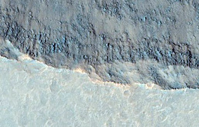 Derrumbamientos Ganges Chasma