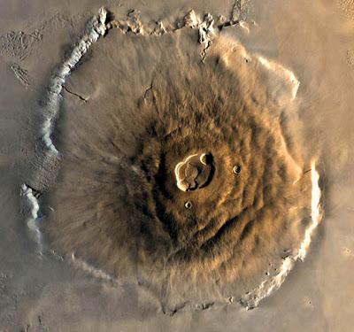 Monte Olympus - Marte