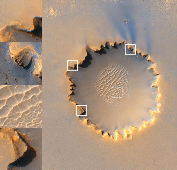 Cráter Victoria - Marte