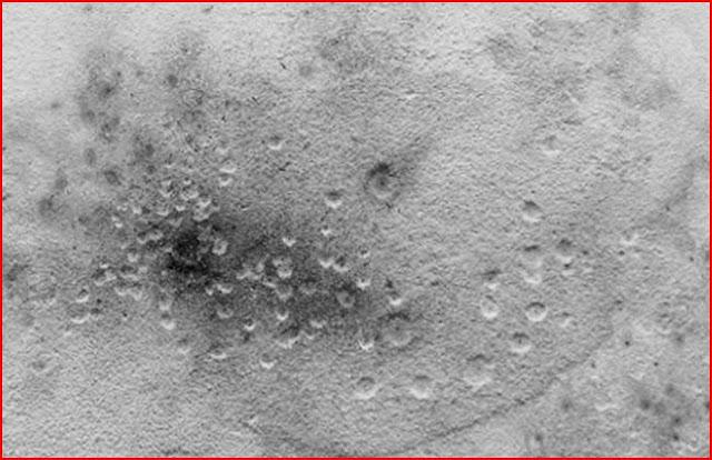 Formación de cráteres en laboratorio