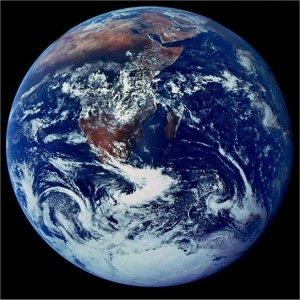 Imagen de la Tierra desde el espacio tomada por el Aplo 17