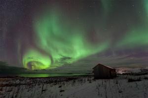 La aurora polar muestra una de las propiedades del plasma eléctrico