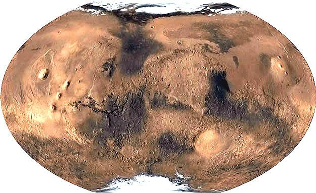 Planisferio de Marte