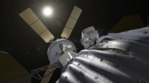 Explorador en un asteroide o cometa