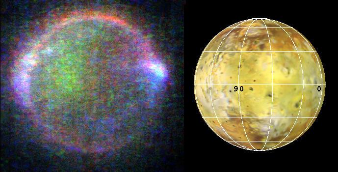 Io, uno de los satélites de Júpiter