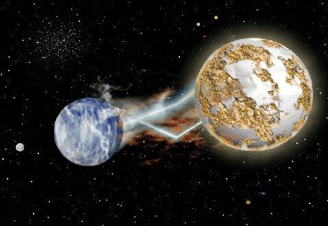Planetas en colisión