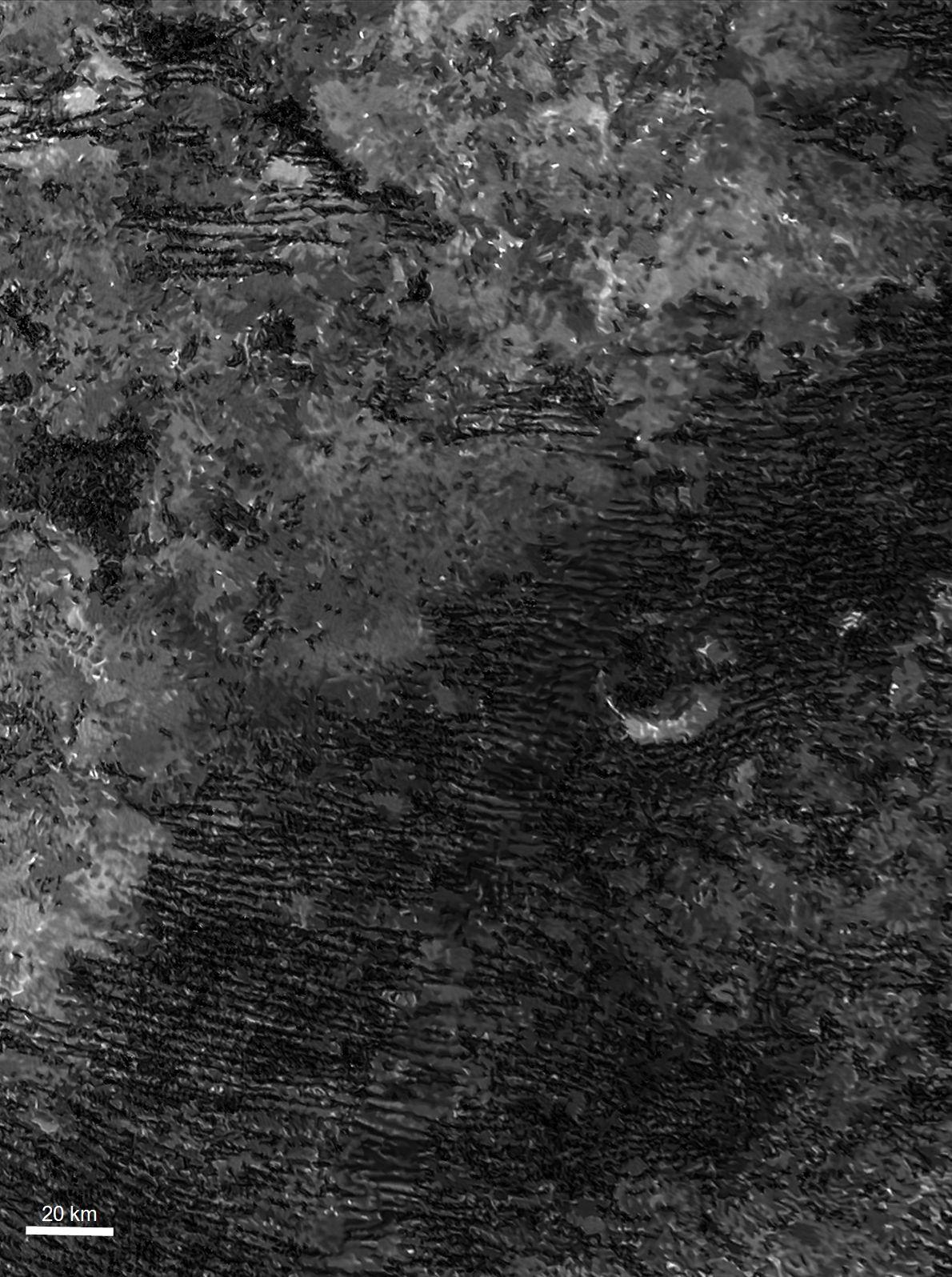 Dunas en Titán