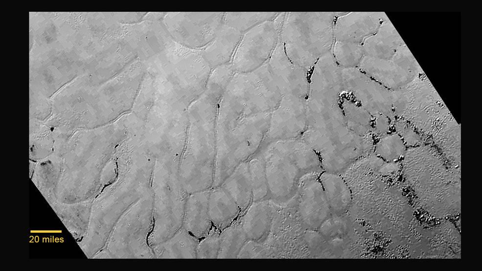 dunas en Pluton