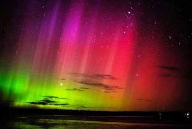 Formación de las auroras polares
