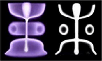 Hombrecillo (stickman) de los petroglifos, como representación de un evento eléctrico celeste en la antigüedad