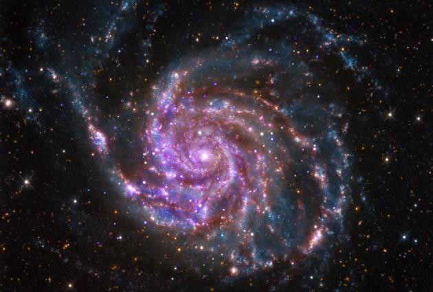 Galaxia M101 - Universo Eléctrico