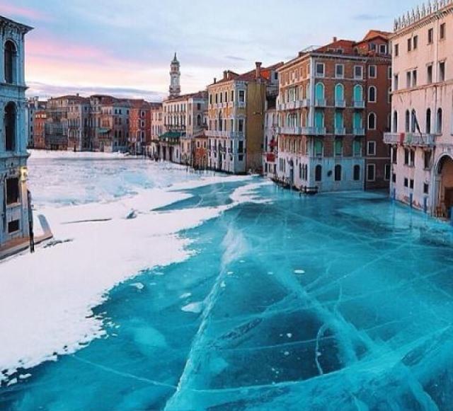 Venecia congelada 16 enero 2017