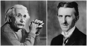 Einstein vs. Tesla